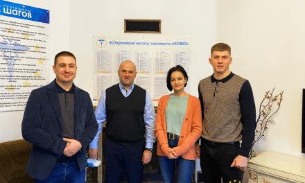 """Centrul """"ADOMED"""" a fost vizitat de către echipa de filmare a canalului de televiziune Primul în Moldova"""